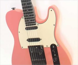 ❌SOLD❌  Modulus Graphite T Style Guitar Coral Pink, 1987