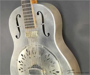 ❌SOLD❌Mule Tricone Resonator Guitar 293 Steel, 2017