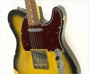 ❌SOLD❌  Nash T-63 Relic T Style Guitar Vintage Burst, 2011