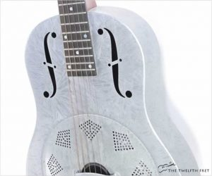 National Dueco Silver 12 Fret Triolian Resophonic Guitar