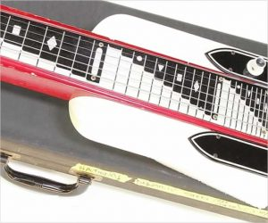 ❌SOLD❌ National Dynamic Lap Steel Red and White, 1962