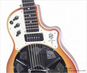 National Resolectric Solidbody Guitar Sunburst