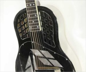 National Style 1.5 Tricone Resophonic Guitar Nickel, 2004