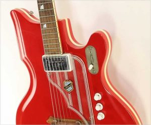 National Val Pro 82 Vermillion Red, 1962 - The Twelfth Fret