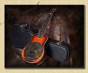 National Resonator Concert Maple Ukulele