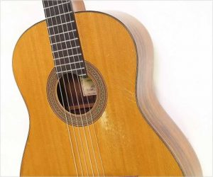 ⚌Reduced‼  Neil Hebert Classical Guitar Brazilian Rosewood, 1986