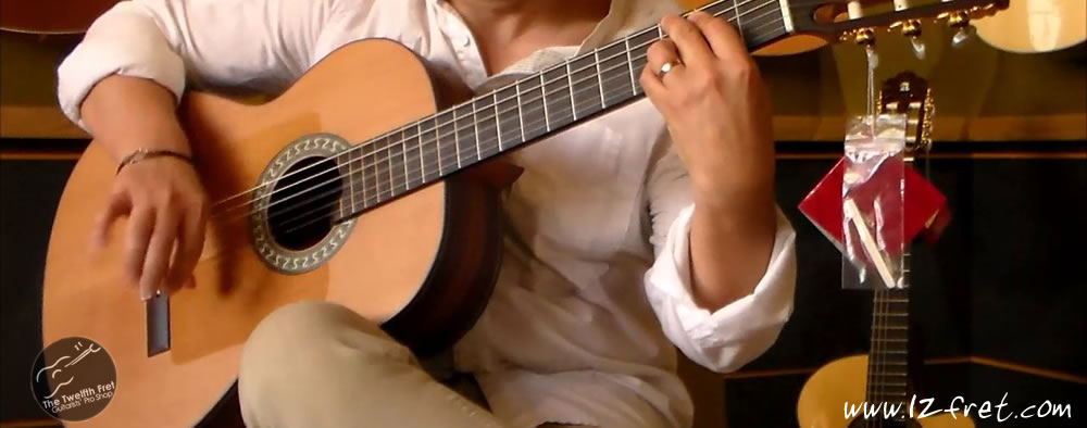 New from Alhambra in Spain: Carlos Piñana Flamenco Models - The Twelfth Fret