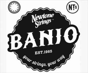 Newtone 5 String Banjo ES Custom Strings