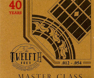 Newtone Master Class Custom Gauge Twelfth Fret 40th Anniversary Edition