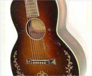 Oahu Style 71K Hawaiian Squareneck Guitar, 1935