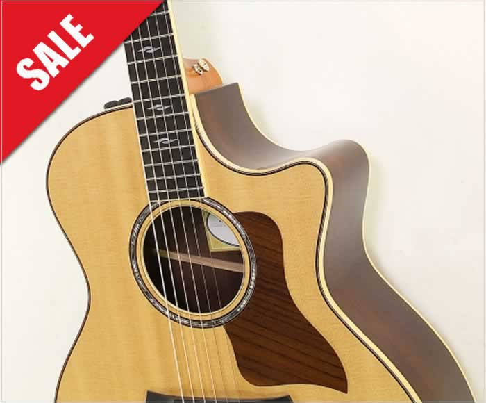 Off the MAP! Taylor 814ce Brazilian Rosewood Guitar, 2015