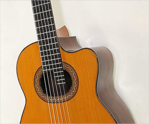 Olivo Chiliquinga Requinto Guitar, 1982