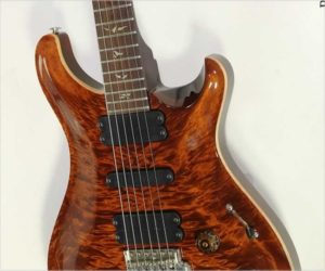 ❌ Sold ❌ PRS 513 Carved Top Electric Guitar, Amber 2008