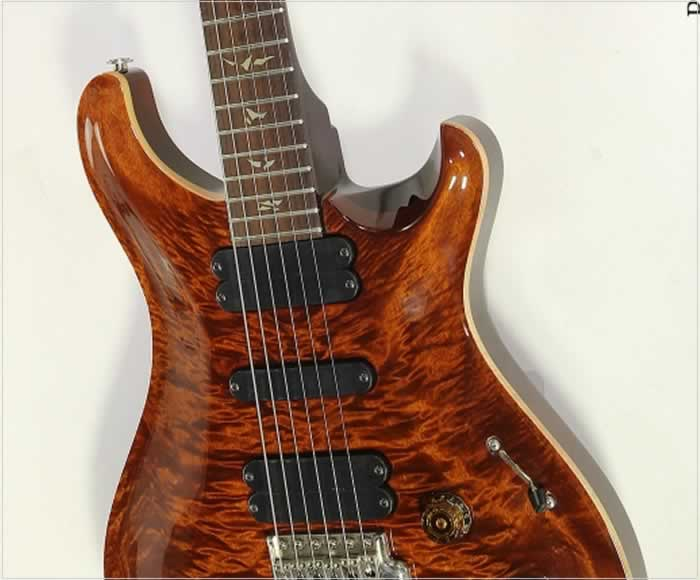 prs 513 carved top electric guitar amber 2008. Black Bedroom Furniture Sets. Home Design Ideas