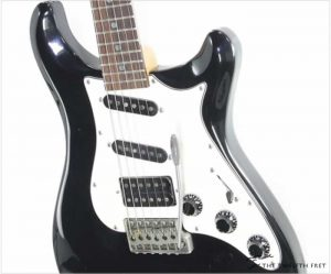 PRS EG4 SSH Solidbody Guitar Black, 1991 - The Twelfth Fret