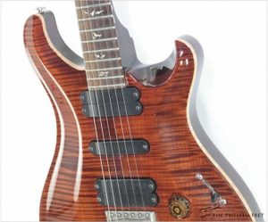 PRS 513 Solidbody Carved Top Amber, 2008 - The Twelfth Fret