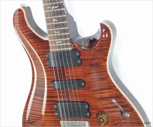⚌Reduced‼ PRS 513 Solidbody Carved Top Amber, 2008