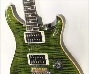 PRS Custom 24 30th Anniversary Trans Emerald, 2014 - The Twelfth Fret