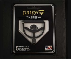 Paige Banjo / Mandolin 5-String Capo - Wide Profile