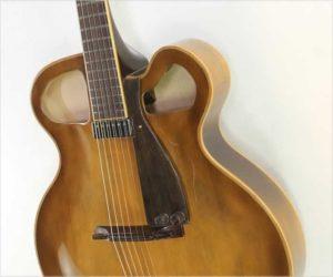 Sold!  Paquet Esperanto 18 Archtop Guitar Cedar, 2018