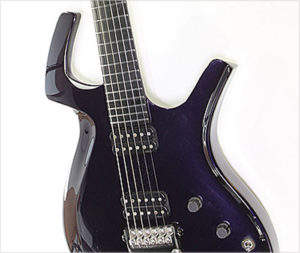 Parker Fly Deluxe Metallic Purple, 1998 - The Twelfth Fret
