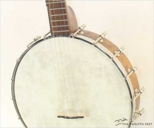 Pattison Whyte Laydie 5-String Black Walnut Banjo, 2019