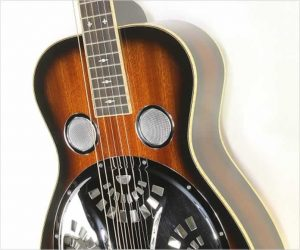 Paul Beard R Model Squareneck Resonator Guitar Sunburst, 2013