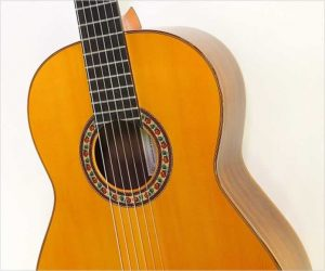 ❌SOLD❌  Pedro de Miguel Flamenco Negra Guitar,  2005