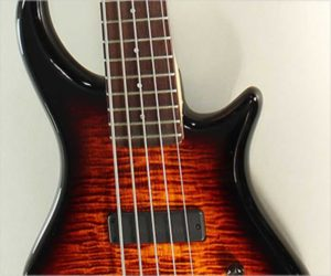 ❌SOLD❌ Pedulla Thunderbolt 5-String Bass Sunburst, 2013