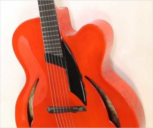 On Hold - Peter Hopkins Tessa Nova Archtop Electric Guitar Red, 2009