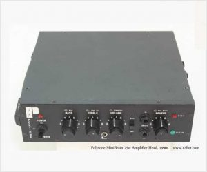 ❌SOLD❌ Polytone MiniBrain 75w Amplifier Head, 1990s