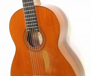 Ramirez 1a Long Scale Classical Guitar Cedar Top Brazilian, 1967