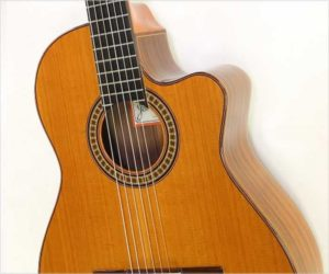 ❌SOLD❌ Ramirez 4CWE Cutaway Classical with Pickup, Cedar and Rosewood, 2003