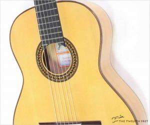 Ramirez FL2 Flamenco Blanca Guitar