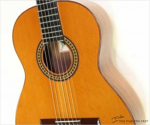 Ramirez Model 4E Cedar Top Classical Guitar, 2001
