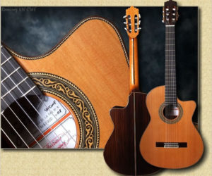 Ramirez Model 4N CWE  - Cutaway Classical Guitar