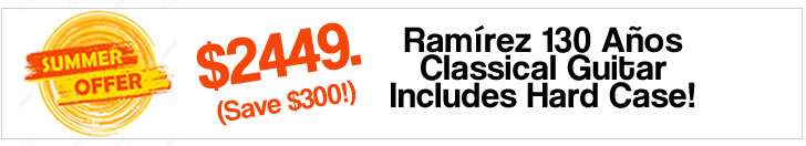 Ramírez 130 Años Classical Guitar - The Twelfth Fret