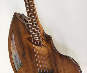 SOLD!!! Ray's Rootworks Shellback Baritone Ukulele, Cedar and Cherry, 2017