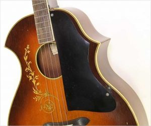 Recording King KayKraft Venetian Tenor Style B Guitar, 1931