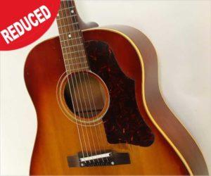 ‼Reduced‼ Gibson J-45 Slope Shoulder Dreadnought Guitar Sunburst, 1962