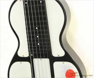 ❌SOLD❌ Rickenbacher Electro B6 'Panda' Bakelite Lap Steel Guitar, c. 1945