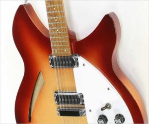 Rickenbacker 330/12 Thinline Electric 12 String Fireglo, 1987