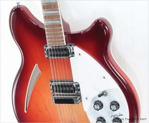 Rickenbacker 360/12 Thinline Electric 12 String Fireglo, 2009 - The Twelfth Fret