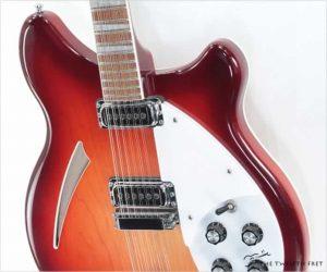 Rickenbacker 360/12 Thinline Electric 12 String Fireglo, 2009