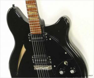 Rickenbacker 360 Jetglo Black Hardware, 1988