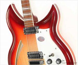 ❌SOLD❌ Rickenbacker 381 12V69 Fireglo, 2012