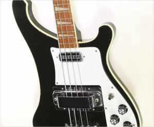 Rickenbacker 4001 Bass JetGlo Black, 1973 - The Twelfth Fret