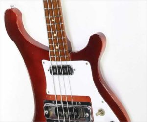 ❌SOLD❌  Rickenbacker 4001S Bass FireGlo, 1973