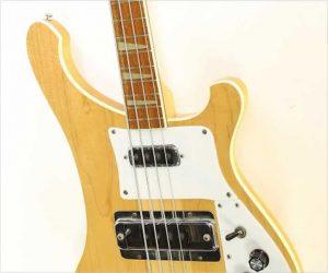 ❌SOLD❌ Rickenbacker 4003 Bass Natural Refinish,  1982