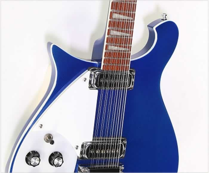 Rickenbacker 620/12 Left Handed Solidbody Electric Metallic Blue, 2005 - The Twelfth Fret